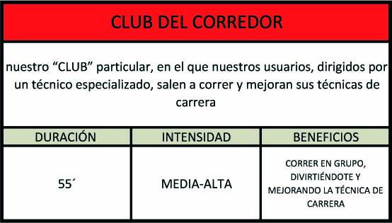 club corredor